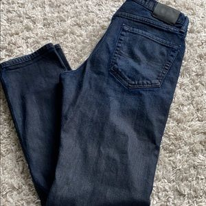 LUCKY BRAND  waxed jeans blue . Skinny . 32